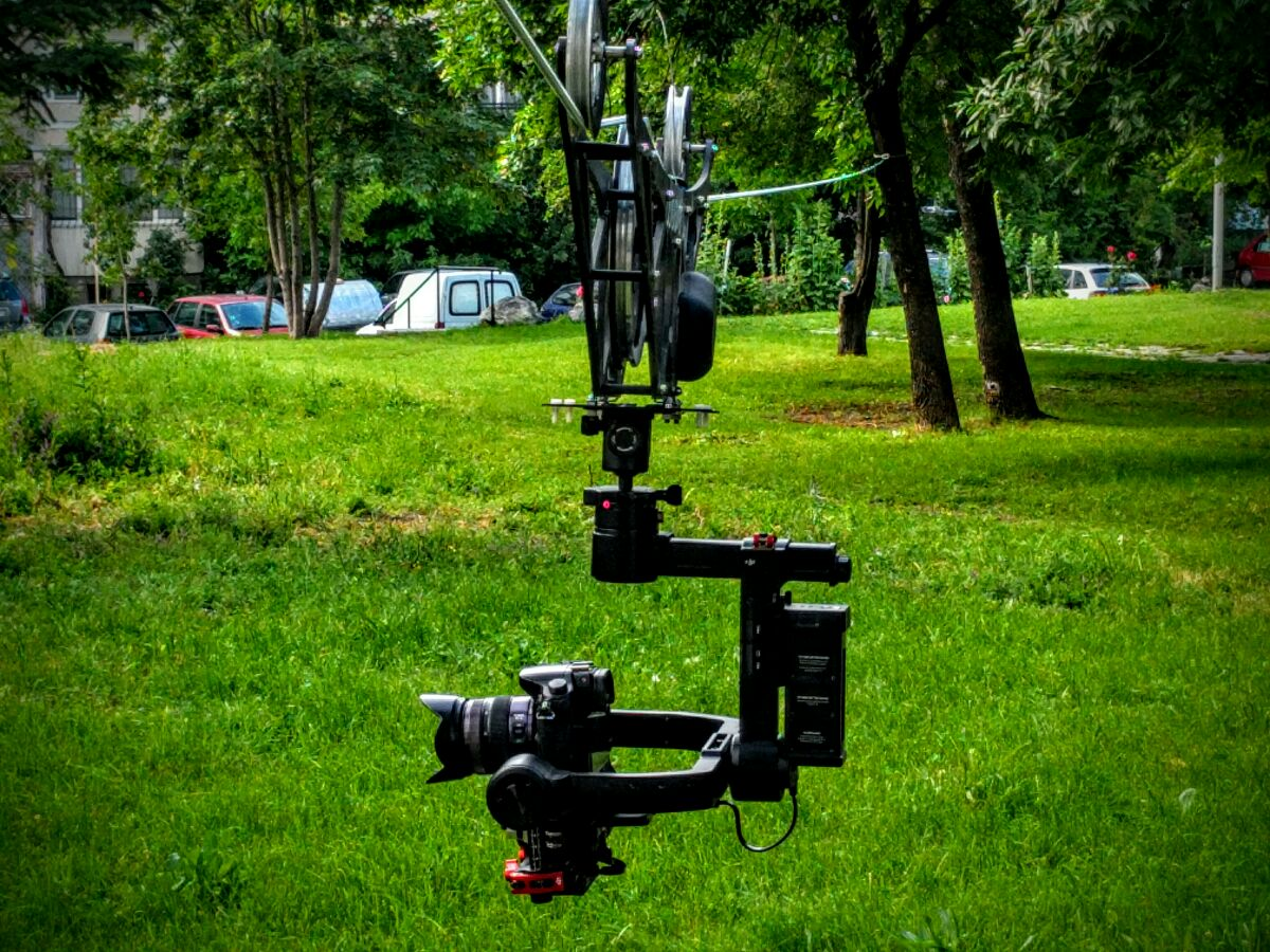 Cable camera system, gimbal Ronin